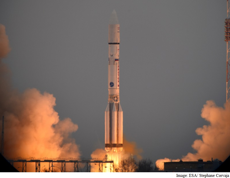 European-Russian Spacecraft Blasts Off in Search of Life on Mars