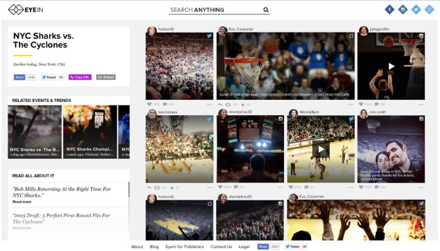 Mobli Takes on Internet Giants With Event-Based Photo and Video Search