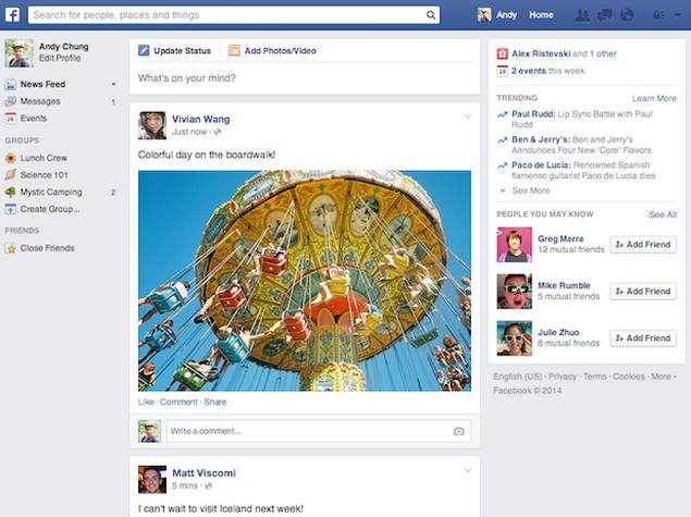 Facebook revamps News Feed with mobile-inspired redesign