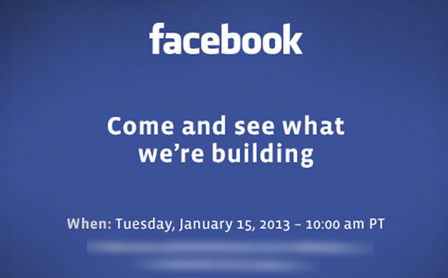 Facebook invites media to 'come and see what we're building'