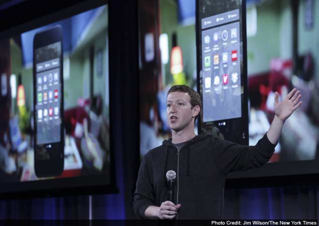 Facebook unveils software to integrate with Android phones