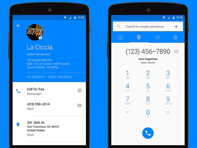 Facebook Hello Dialler and Caller ID App Unveiled for
