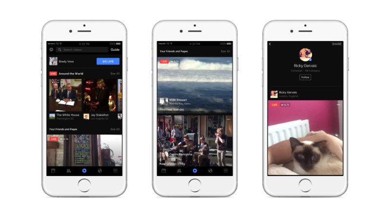Facebook Paying Publishers to Use Its Live Video Broadcasts: Reports