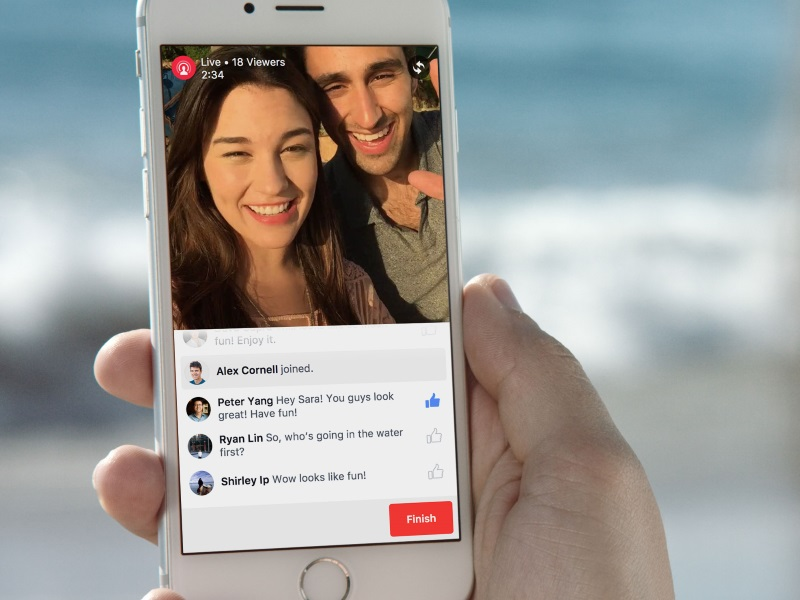 Facebook Testing Live Video Streaming on iOS