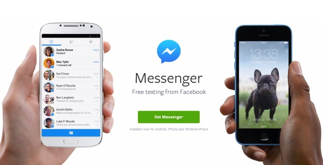 Chat app facebook android