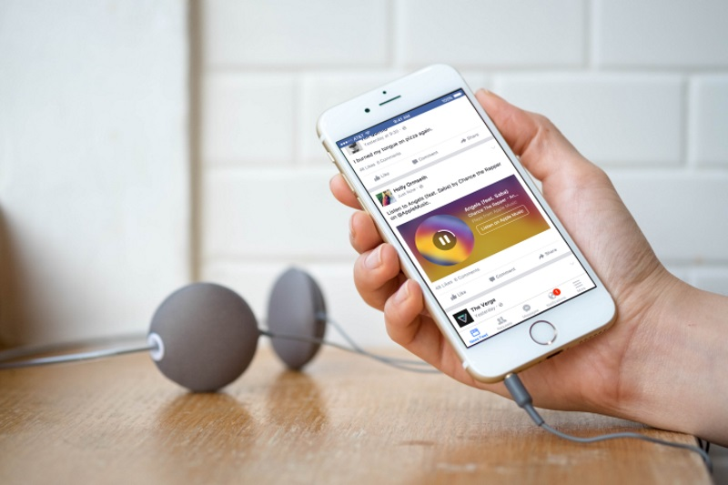 Facebook Music Stories Lets Users Share Spotify, Apple Music Clips