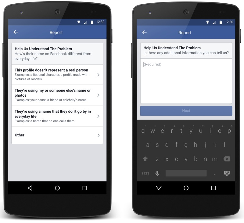 Facebook Testing Changes to Its Strict 'Real Name' Policy Enforcement