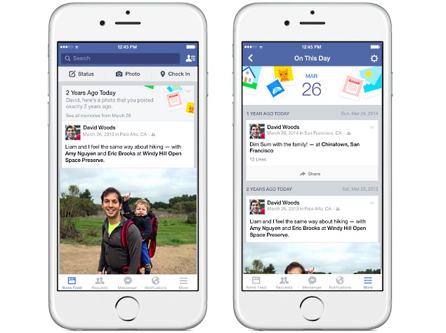 Facebook Unveils 'On This Day' Tool to Bring Back Memories