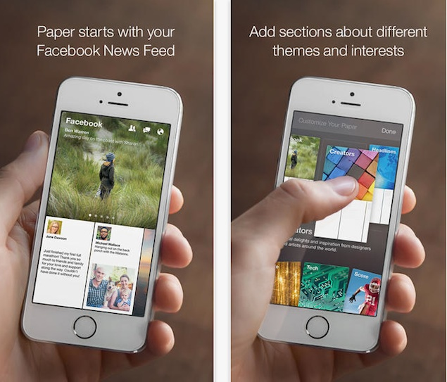 Facebook's new Paper app gets embroiled in naming controversy