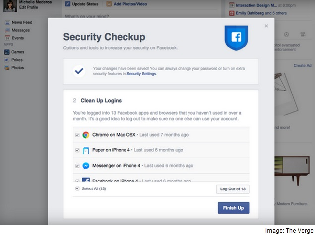 Facebook Reportedly Testing New Security Check-Up Feature