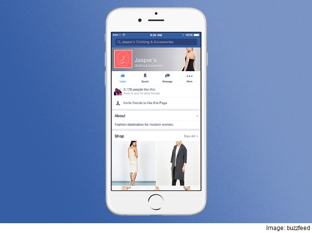 Facebook Starts Building Shopping Functionality Into Pages