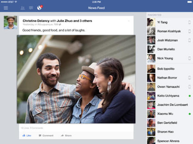 Facebook v8.0 app for iOS brings improved private photo sharing, and more