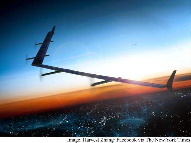 Drones Beaming Web Access Are in the Stars for Facebook