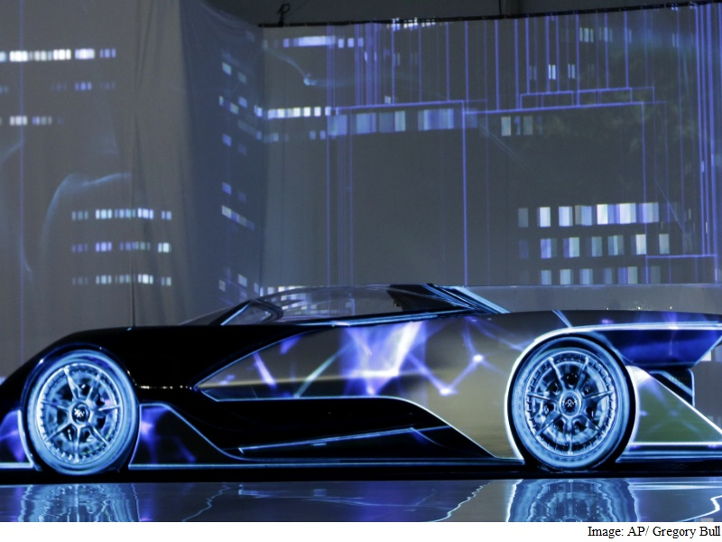 Faraday Future Unveils Batmobile-Style Electric Car to 'Redefine Mobility'