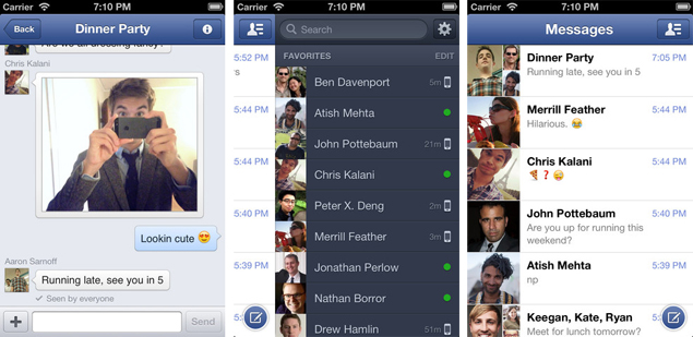 Facebook Messenger for iPhone adds free voice calling for US users