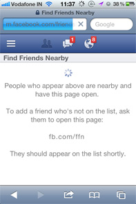 Facebook pulls the plug on 'Find Friends Nearby'