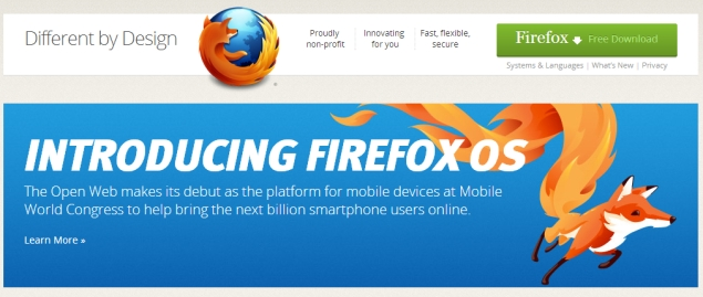 Mozilla previews Firefox OS for mobiles, phones coming this summer