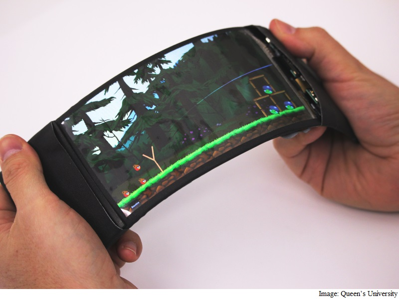 'ReFlex' Flexible Android Smartphone Developed, Brings 'Bend Gestures' to Apps