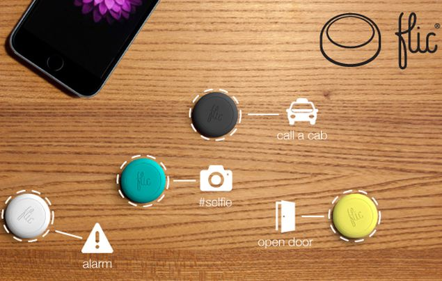 Flic Is a Versatile Bluetooth Button for Your Phone