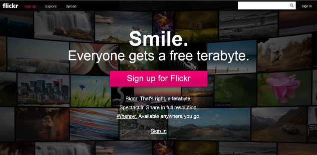 Yahoo revamps Flickr, offers 1TB storage for free