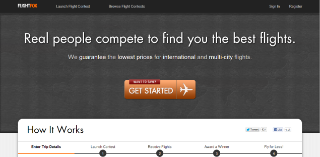 To provide lowest airfare, startup turns to crowdsourcing