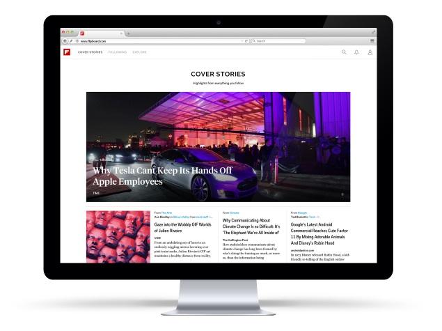 Flipboard Magazine App Gets a Web Version