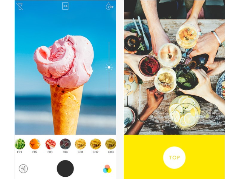 Foodie: An App Designed to Make Your Food Photos Look Tasty