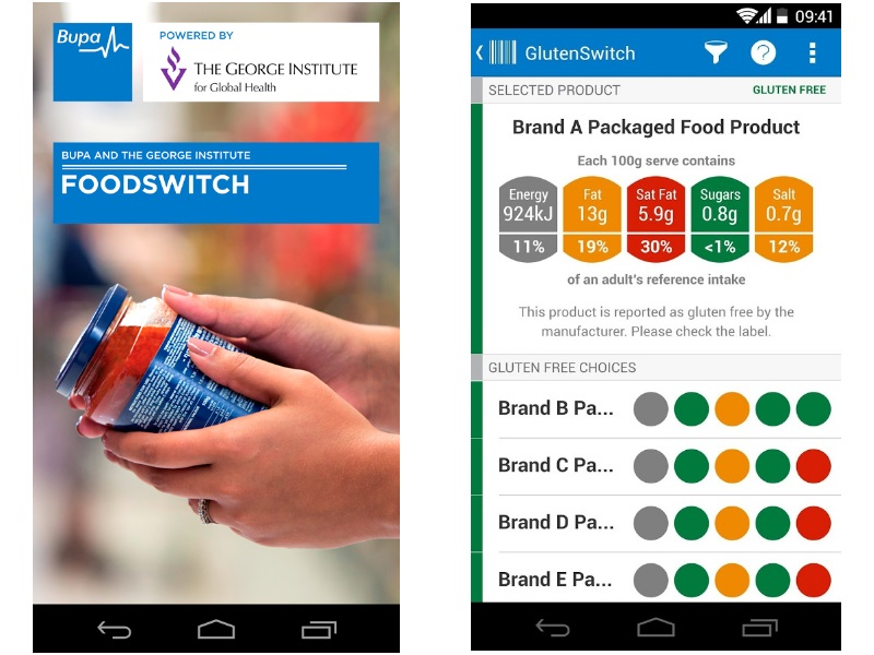 FoodSwitch App Will Help You Make Healthier Food Decisions