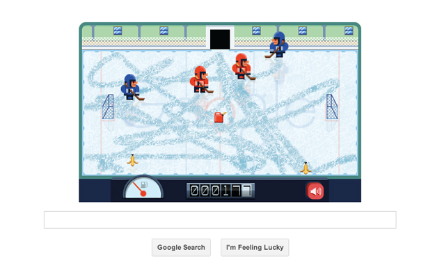 Frank Zamboni's 112th birthday marked by an interactive Google doodle