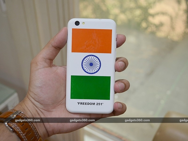 Freedom 251: Mobile Industry Raises Concerns Over Rs. 251 Smartphone