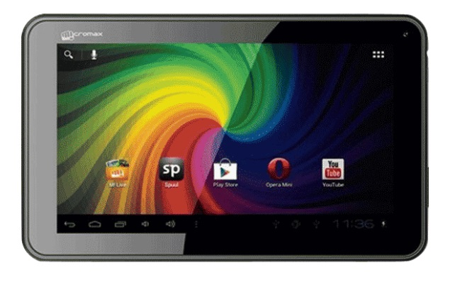 Micromax Funbook P255 tablet with Android 4.0 available online for Rs. 4,499