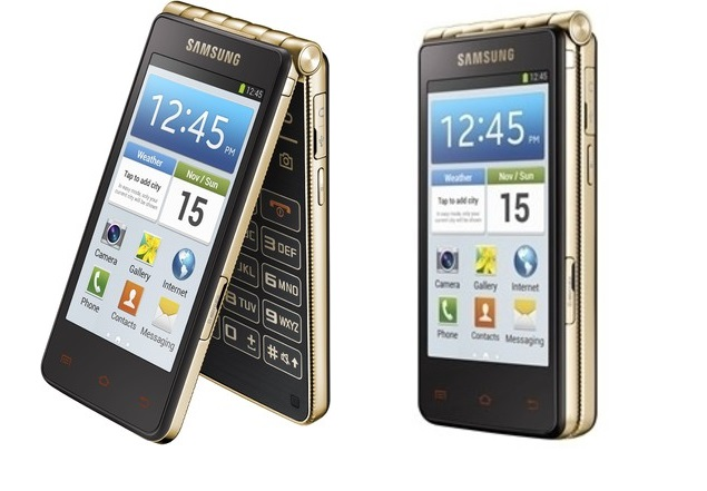 Samsung Galaxy Golden Android flip phone launched in India at Rs. 51,900