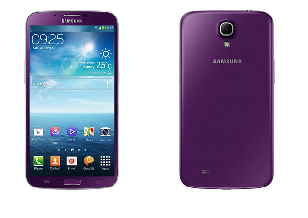 Samsung Galaxy Mega 6.3 now available in Purple variant