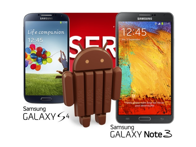 Samsung Galaxy S4, Galaxy Note 3 to get Android 4.4 update in January: Report