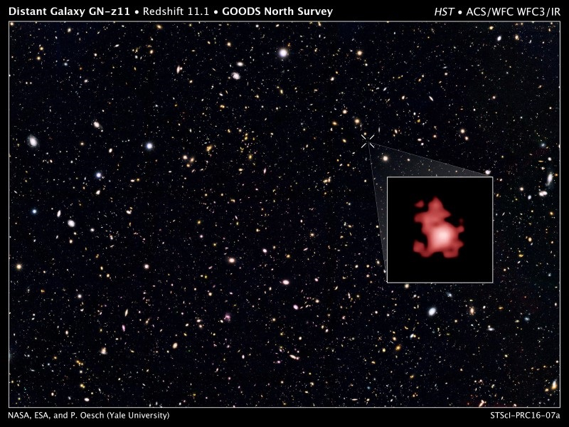 Hubble Telescope's Latest Find Pushes Back Clock on Galaxy Formation
