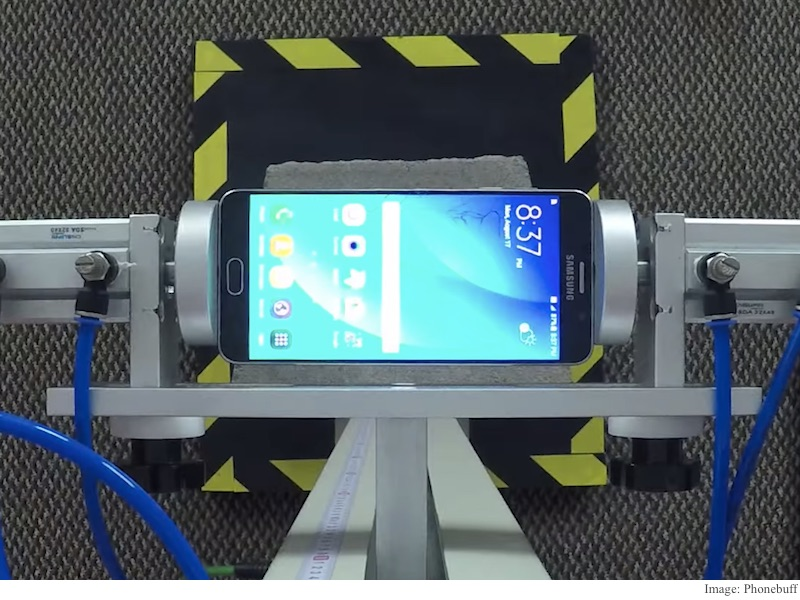 Samsung Galaxy Note 5 Drop Test Finds iPhone 6, HTC One M9 ...