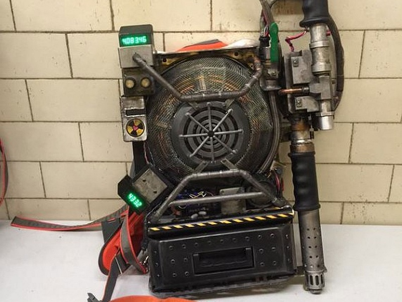 Sony Announces Real Life Ghostbusters Proton Pack