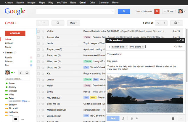 Google kicks off always encrypted Gmail service