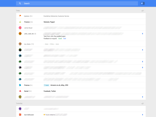 Radical Gmail Redesign Shows Up in Leaked Screenshots