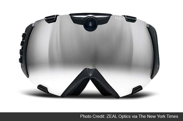 High-tech sports goggles: Vital data, or too much info?