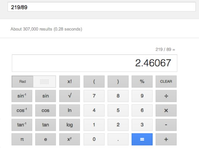Google adds 34-button calculator to answer mathematical queries
