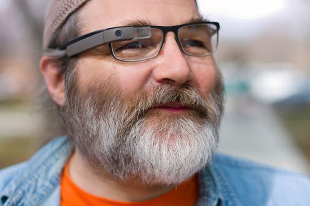 Google Glass will feature frame and lens support matching your prescription