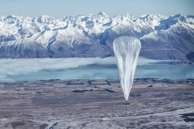 Google says Internet balloons will benefit small business
