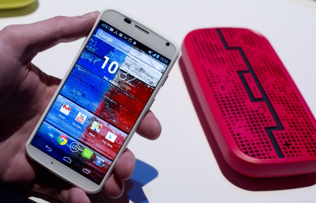 Google unveils Moto X, a customisable Android smartphone