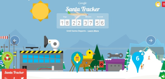Google and Microsoft vie to be top Santa tracker this Christmas