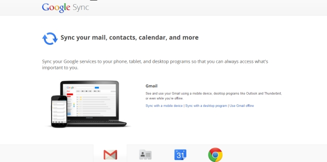 Google extends sunset date for Google Sync to 31st July 2013