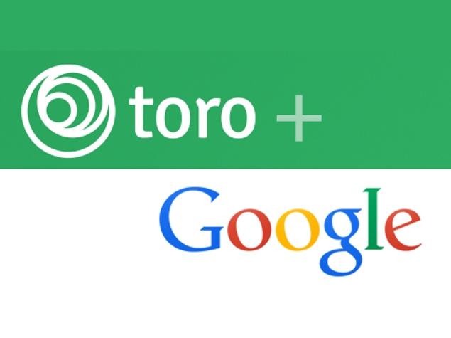 Google Buys Facebook-Focused App Marketing Firm Toro