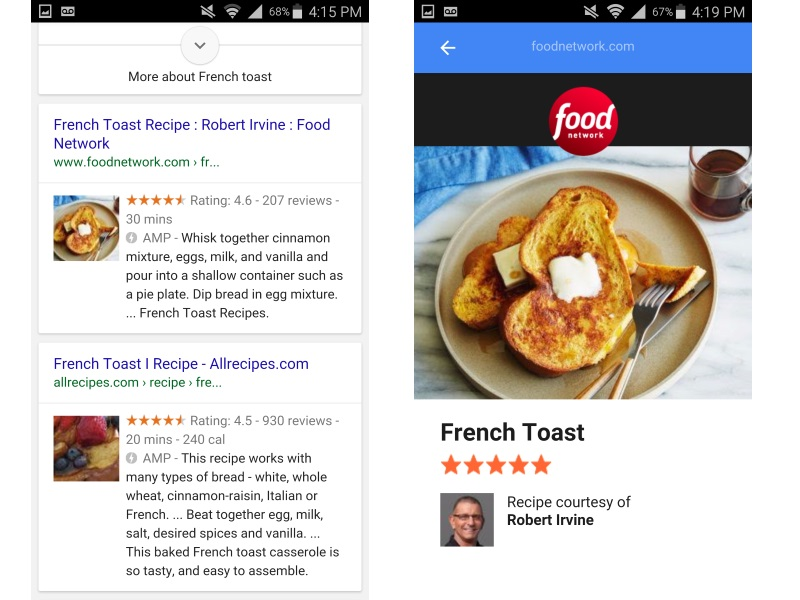 Google's Accelerated Mobile Pages to Make Their Way to Search Results