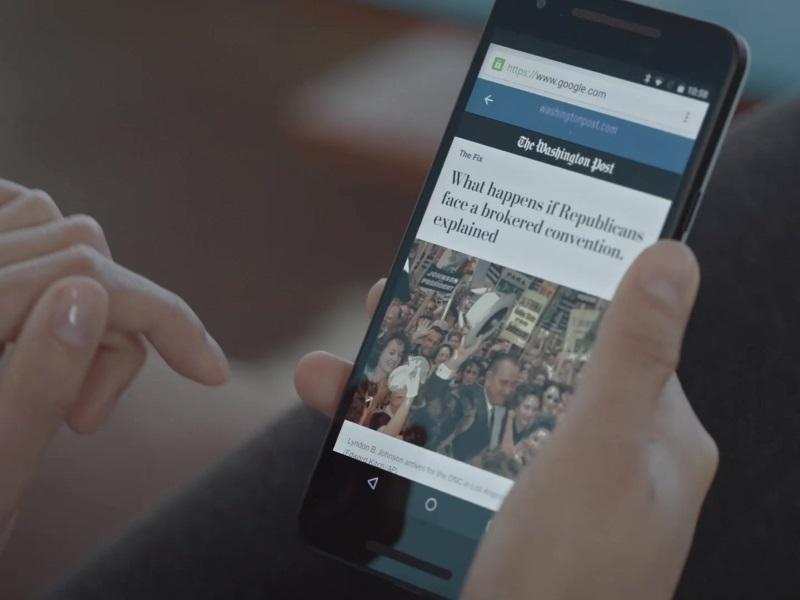 Google Speeds News to Smartphones With AMP, Challenging Facebook