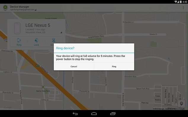 Now, Set a Call Back on Lost Smartphones With Android Device Manager